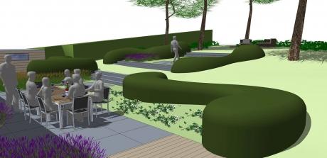 Op zoek naar een tuinarchitect for Tuin uittekenen