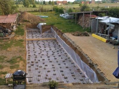 De opbouw van een zwemvijver for Kostprijs zwemvijver aanleggen